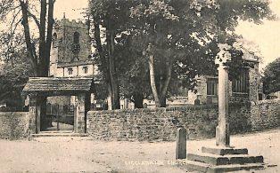 Giggleswick Church and Cross