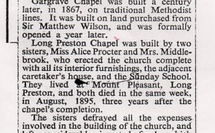 History of the Chapels