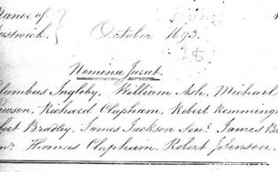 Manorial Records for North Craven