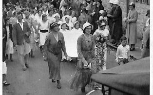 Parade in Giggleswick