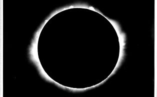 Eclipse as seen from Giggleswick