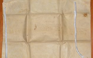 Agreement for Dividing Crummack Bottoms 1790