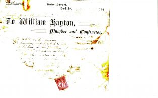Settle Businesses Hayton 1912