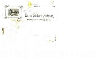 Settle Businesses Hodgson 1916