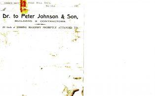 Settle Businesses Johnson 1916