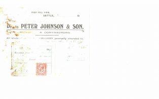 Settle Businesses Johnson 1920