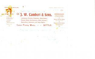 Settle Businesses Lambert 1920