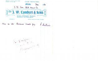 Settle Businesses Lambert 1967