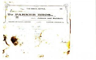 Settle Businesses Parker 1913