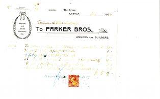 Settle Businesses Parker 1924