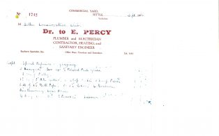 Settle Businesses Percy 1953