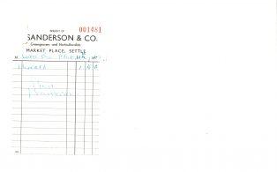 Settle Businesses Sanderson 1969