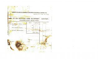 Settle Businesses Settle Gas 1912