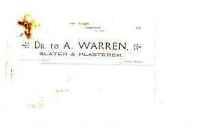 Settle Businesses Warren 1920