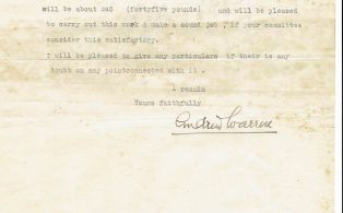 Settle Businesses Warren 1935