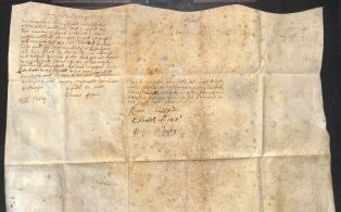 Foster Deed Stainforth 1677 c