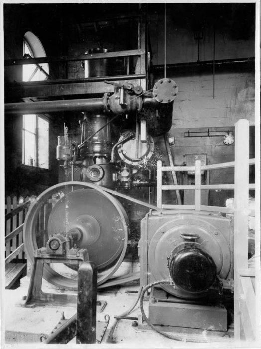 Compressor at Horton Quarry