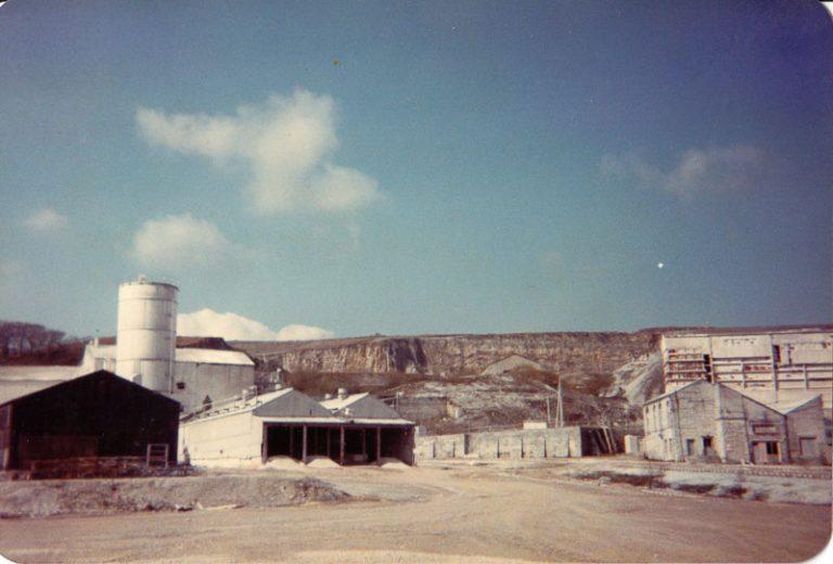 Hydrating Plant at Horton quarry