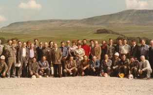 Staff at Horton in Ribblesdale Quarry
