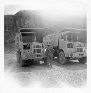 Scamell Dumpers at Horton Quarry