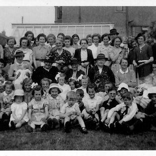 Austwick Mothers' Union Garden Party 1944
