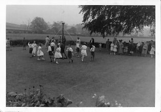 Maypole Dancing at Austwick