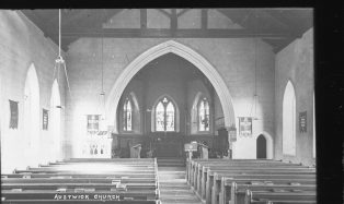 Interior of Austwick Church