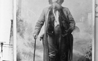 "Photograph Made by C Webber of Lancaster of ""Old Character"