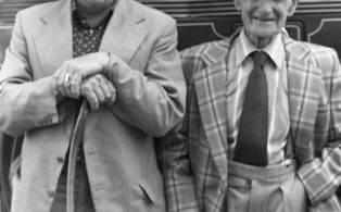 Photograph of Two Characters