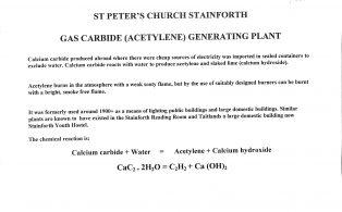 St Peters Church Carbide Plant