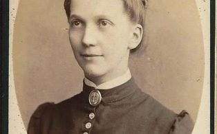 Photograph of Fanny Rawlinson of Bell Busk