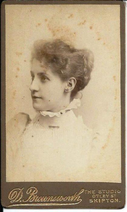 Photograph of Jane Metcalfe of Bell Busk