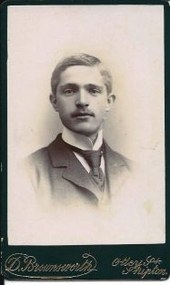Photograph of John Metcalfe of Kirkby Malham