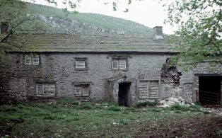 Photograph Dated 1976 of Old Middle House