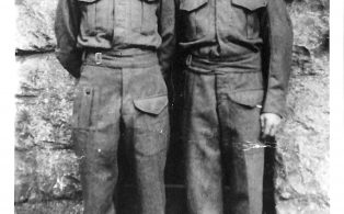 Photograph of Charlie Thompson and John Sunter