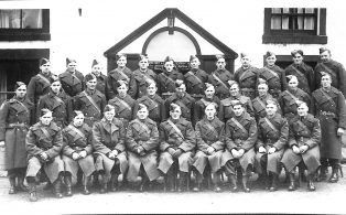 Photograph of Group of Horton Home Guard Members