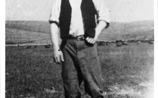 Photograph of Harry Kraffzik, German POW at Lodge Hall Farm
