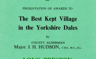 Best Kept village programmes