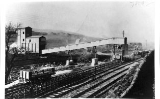Photograph of Railway Loading Facility at Helwith Bridge