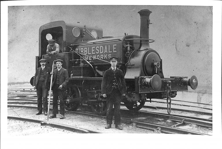 Photograph of Locomotive Used at Horton quarry
