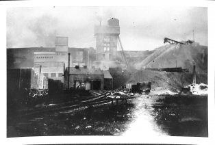 Photograph of Processing Plant at Horton Quarry