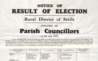 Parish Council Elections May 1970