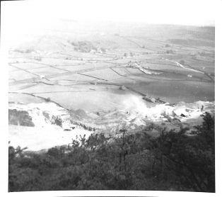View of Upper Ribblesdale Taken From Above Foredale Quarry