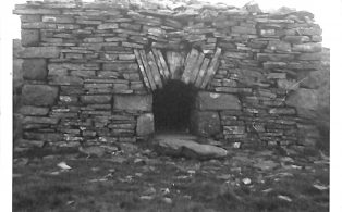 "Photograph of ""Old Smithy House"" Top of Fountains Fell"