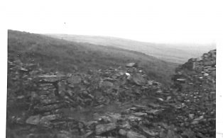 Photograph of Old Coal Weigh House Fountains Fell, Looking towards Stainforth