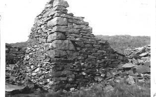 Photograph of Old Coal Weigh House, Fountains Fell Looking Away From Stainforth