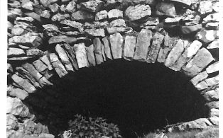 Photograph of Lime Kiln at Unknown Location Around Horton