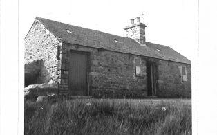 Photograph of shooting lodge (demolished), Horton Scar lane, Horton