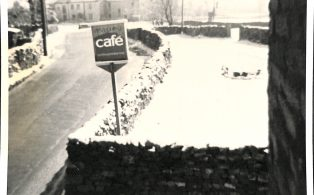 Photograph of Penyghent Cafe, Main street, Horton in the Snow