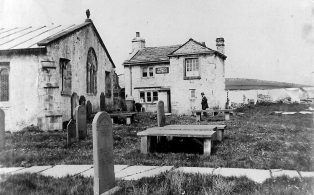 Photograph Dated 1900 of Post Office at Church Cottage, Horton